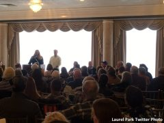 The inaugural Fantasy Owners' Day at Laurel Park attracted 300 participants