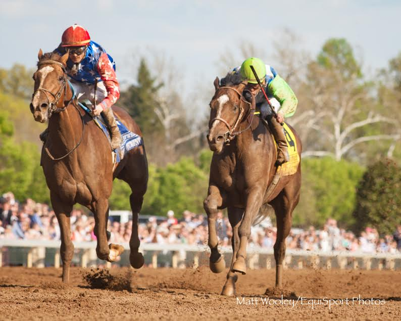 Senior Investment's late charge wins Lexington at Keeneland