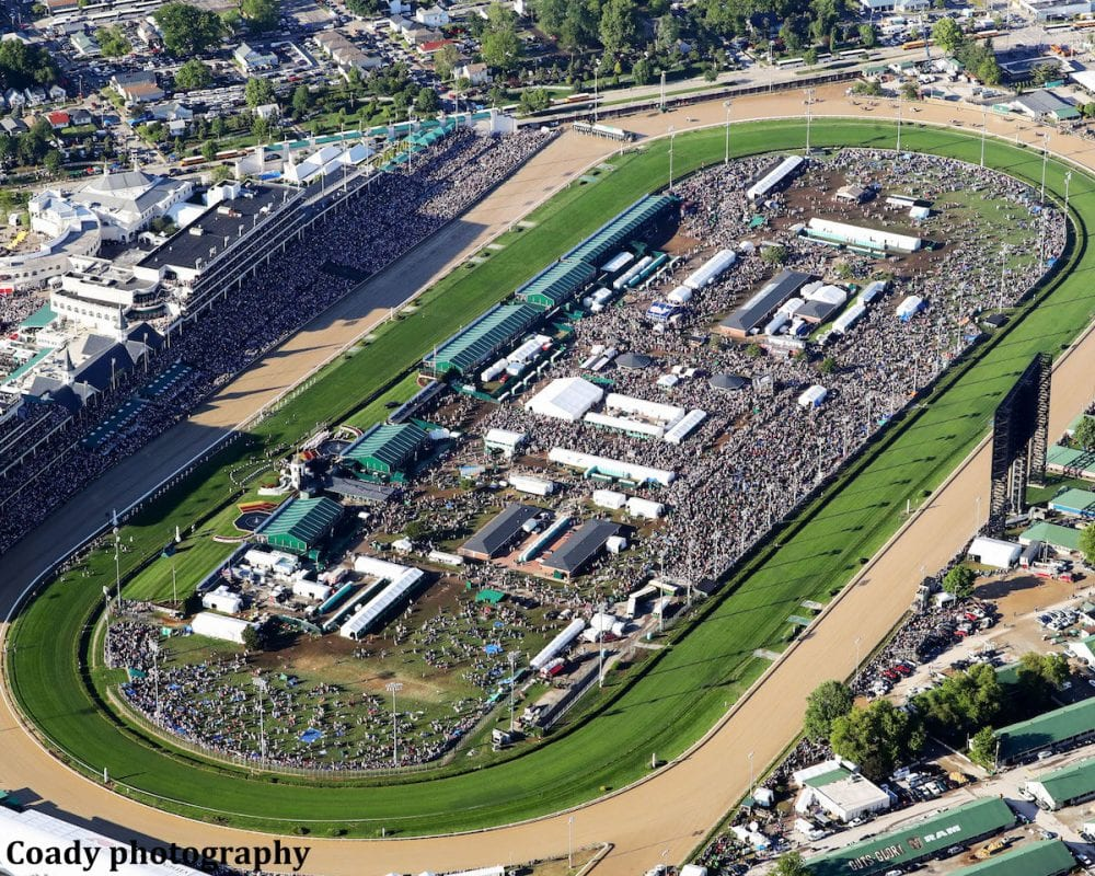 report: churchill downs planning major parking expansion - horse
