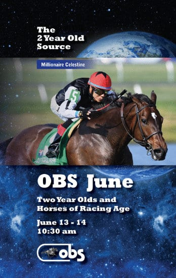 OBS June Under Tack Show Concludes With Astrology Filly
