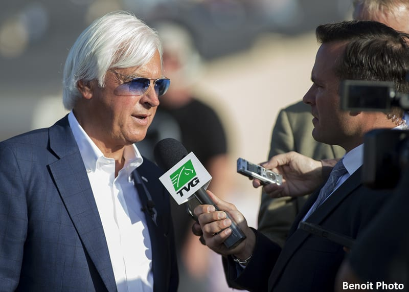 Baffert 'Disappointed,' But Assures Fans Arrogate Will Be Ready For Pacific Classic