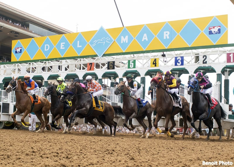 Full Fields Competitive Racing Highlight Del Mar S