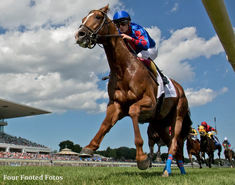 Sonic Boom Earns First Graded Victory In American Derby - Horse ...