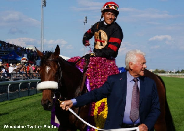 Holy Helena Pulls Off Woodbine Oaks, Queen's Plate Double