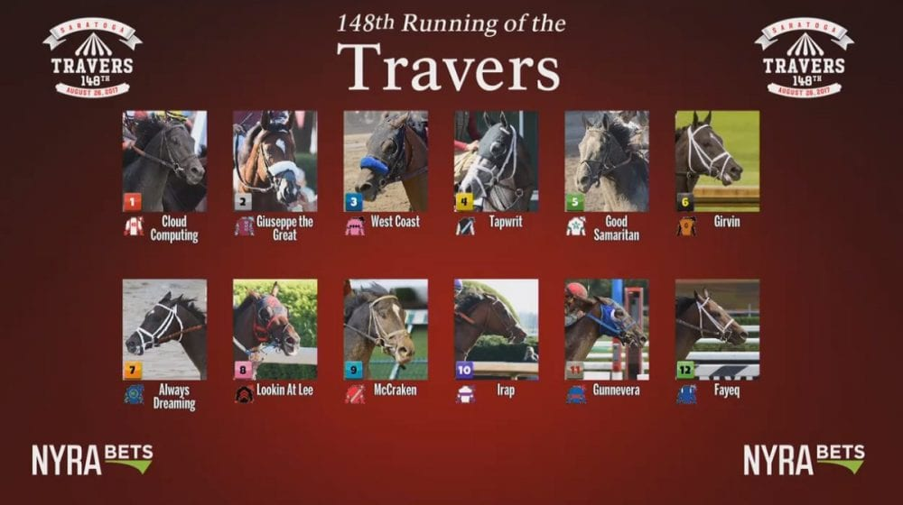 Belmont Winner Tapwrit Draws Post 4, Installed As 7-2 Favorite For Travers