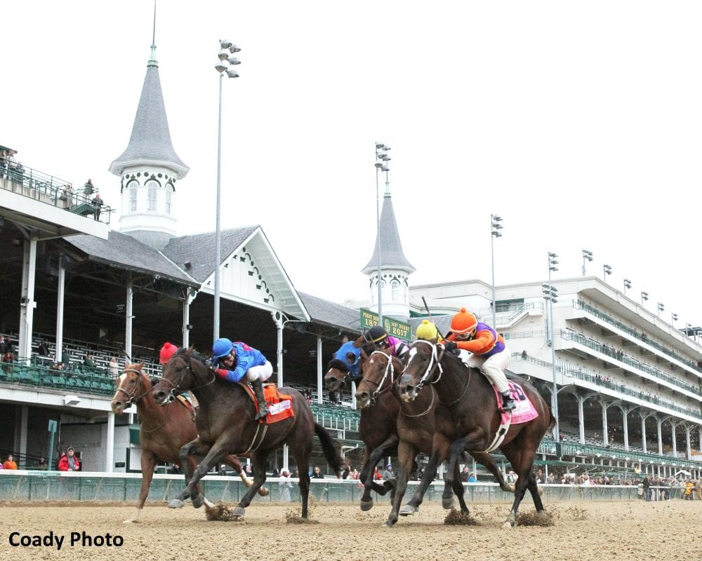 Hughes Fight On Wins Photo In Spendthrift Juvenile