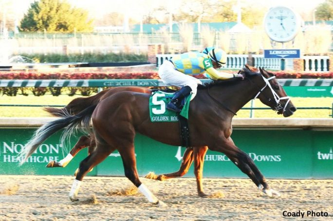Road To Victory Finds Her Way In Golden Rod Stakes Horse