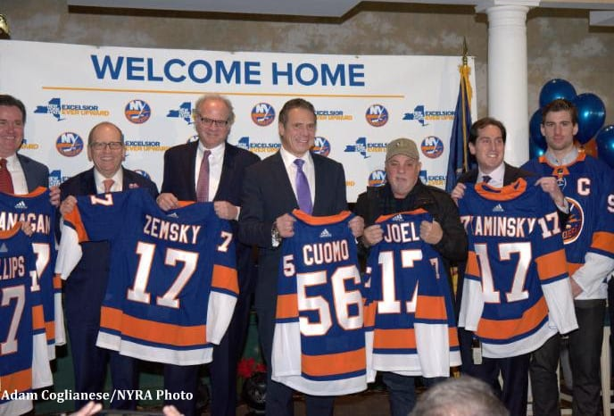 Islanders getting new arena at Belmont Park