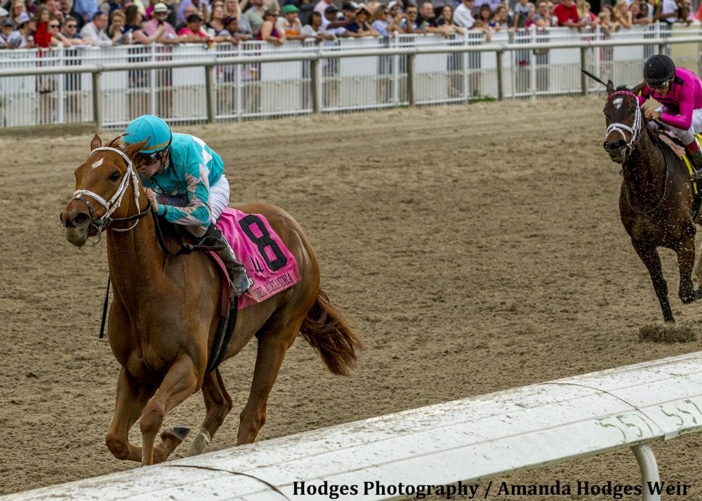 Monomoy Girl Last To First In Rachel Alexandra Horse