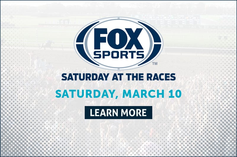 Fox Sports Saturday At The Races Features Coast-To-Coast