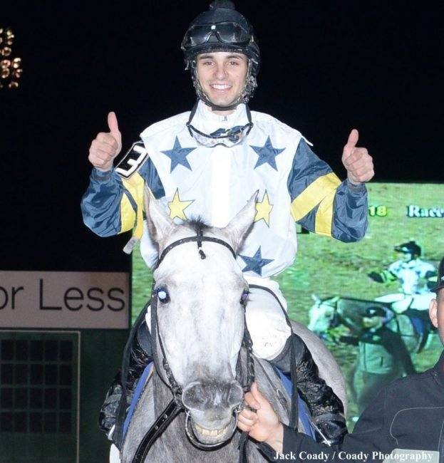 Jockey Lindey Wade Surging To The Wire At Sam Houston Race