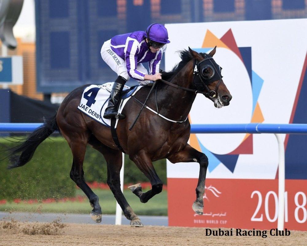 Aidan O'Brien's Mendelssohn wins the UAE Derby