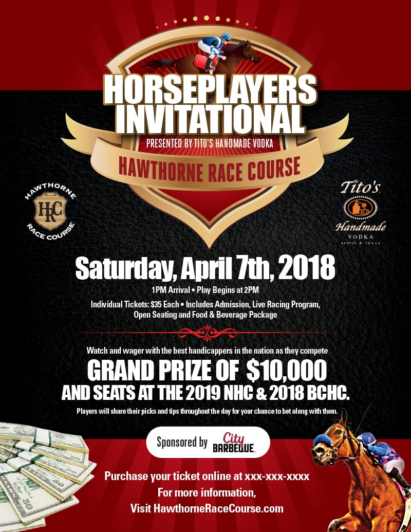 Hawthorne S Inaugural Horseplayers Invitational Will Air