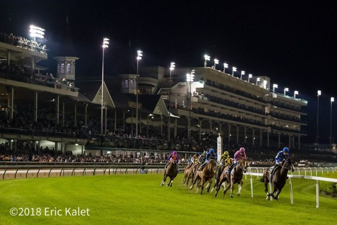 churchill downs offering handicapping tournament  all-stakes pick 5 saturday night
