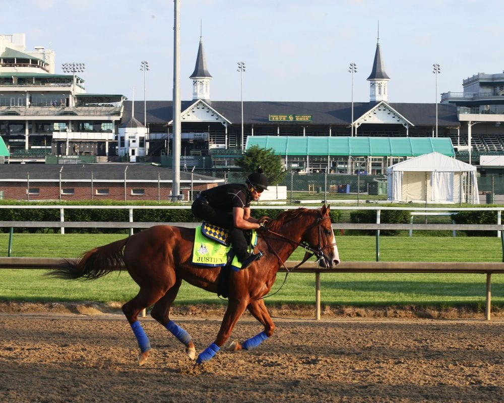 Preakness States field taking shape with Justify, Good Magic set to race
