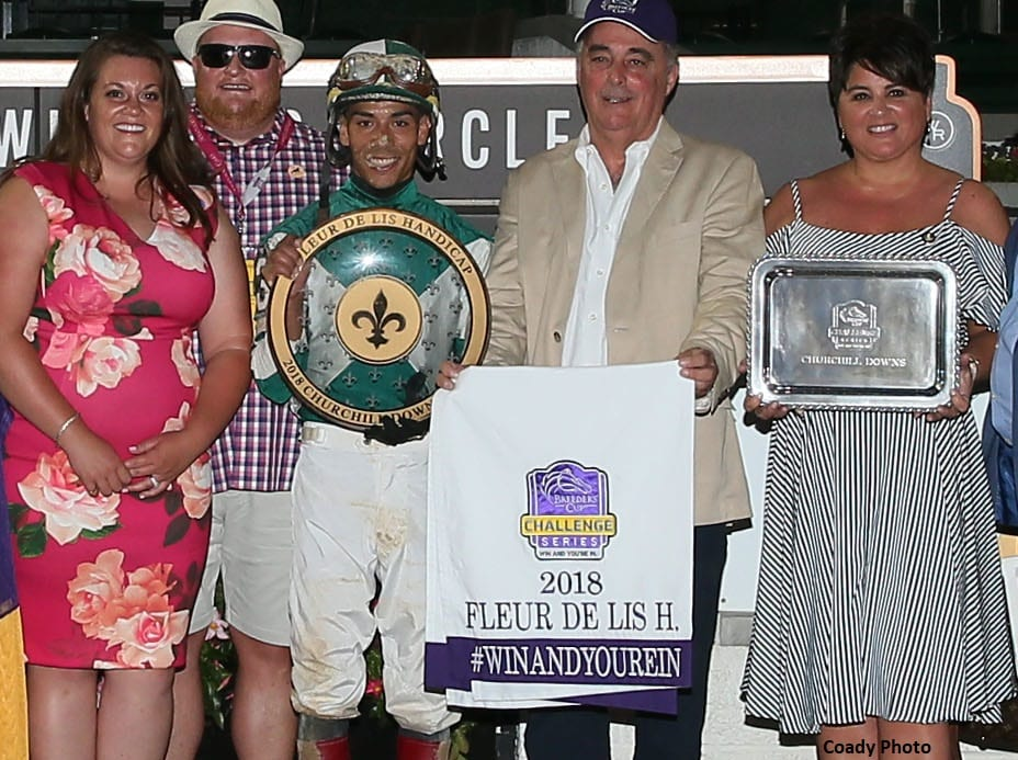 Breeders' Cup Countdown Presented By DRF Bets: Correas, Blue Prize