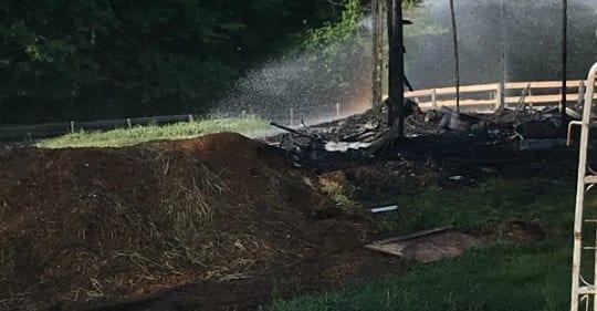 Horses Perish In NY Barn Fire