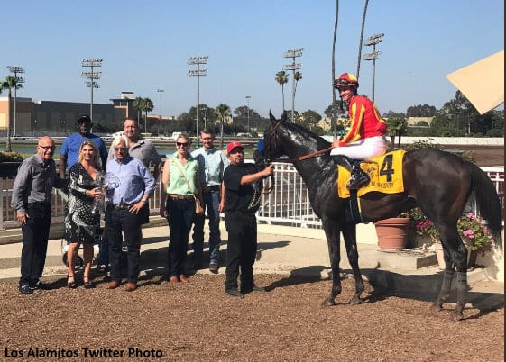 Once On Whiskey Denies Draft Pick In Los Alamitos Derby