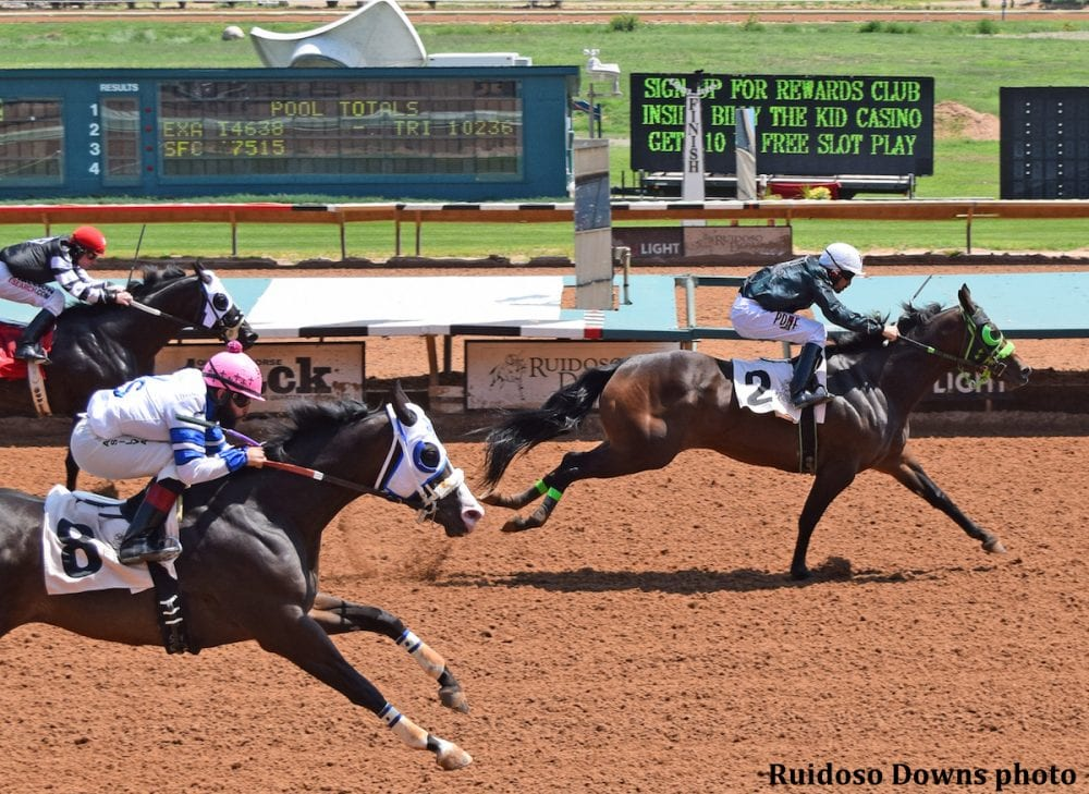 Ruidoso Downs Bans Trainer After Four Win Day In All