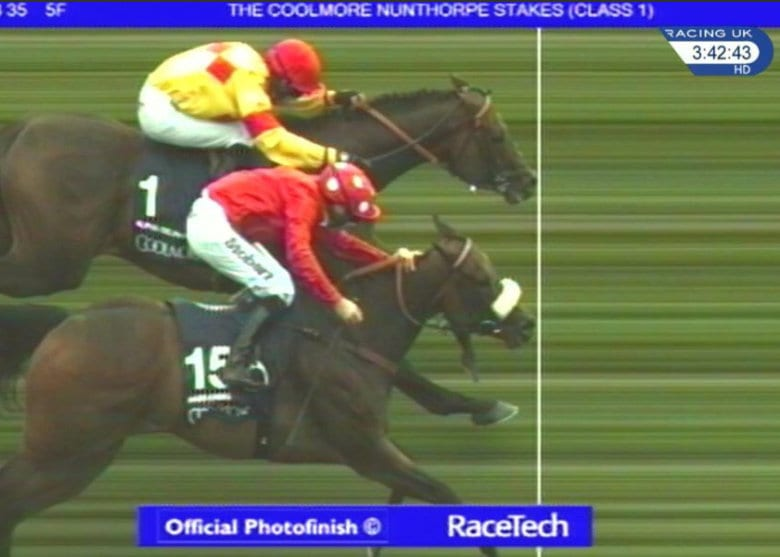 Alpha Delphini By A Nose For 40 1 Upset In Nunthorpe