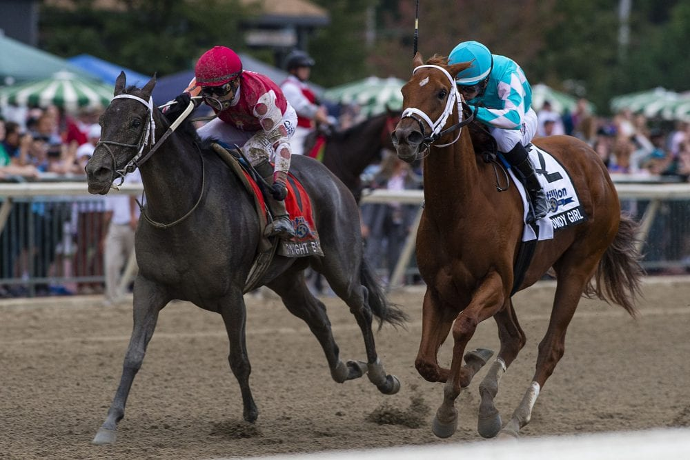 Midnight Bisou Moved Up After Monomoy Girl's Disqualification In Cotillion