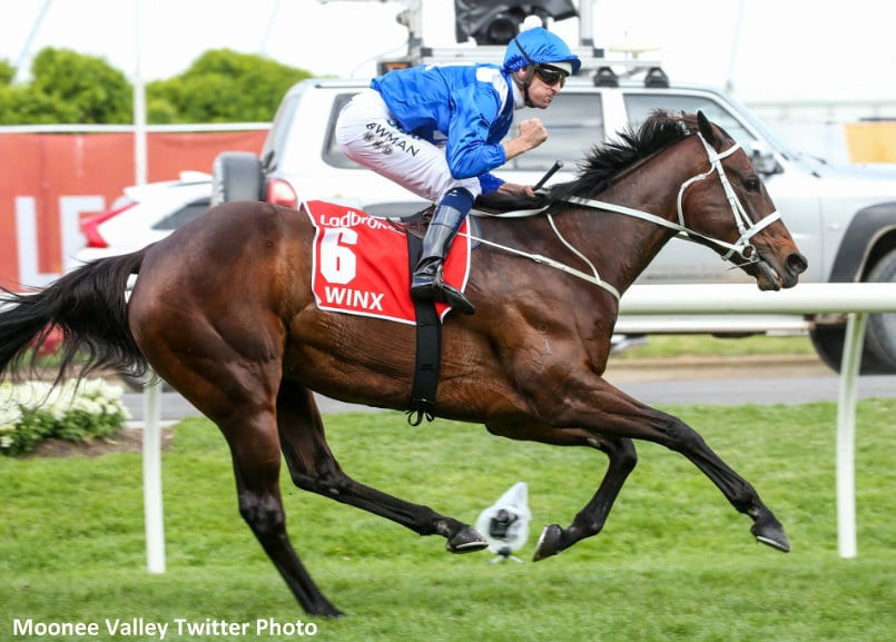 Winx wins; 'I can't believe it,' says Bowman
