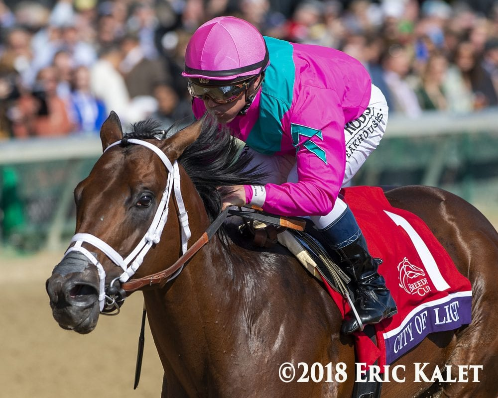 Pegasus Distance Well Within Range Of Breeders Cup