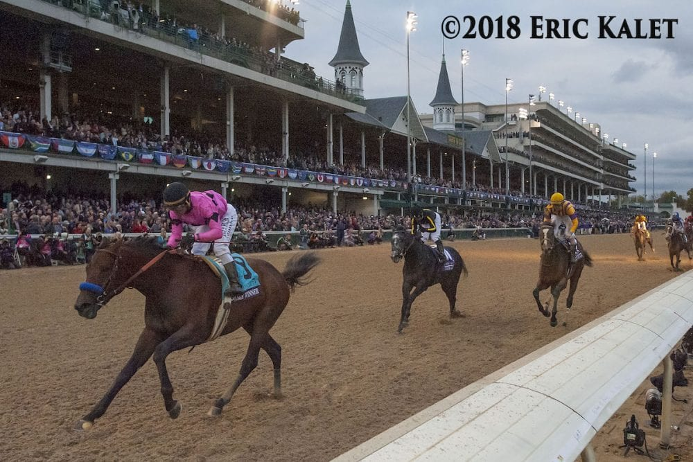 Wagering Tops 52 Million On Inaugural Breeders Cup
