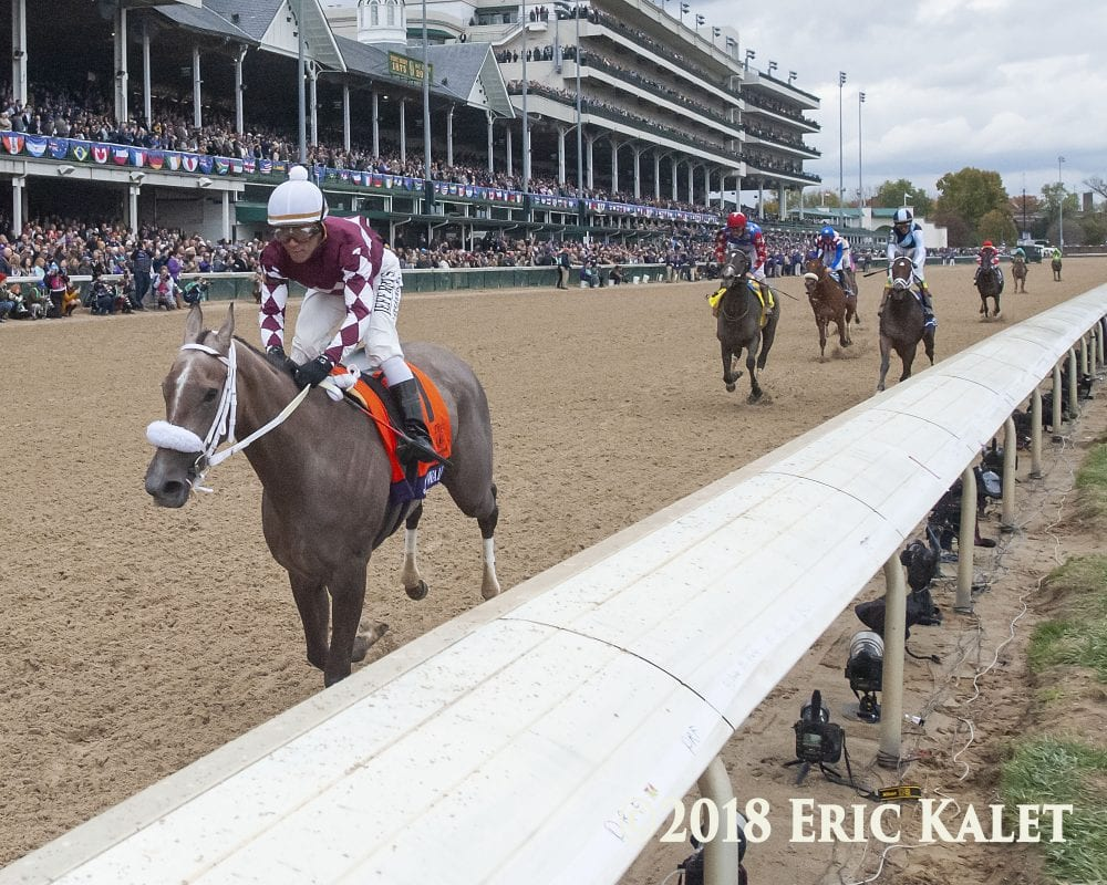 Zacney Servis Scripting Oaks Run For Champion Jaywalk