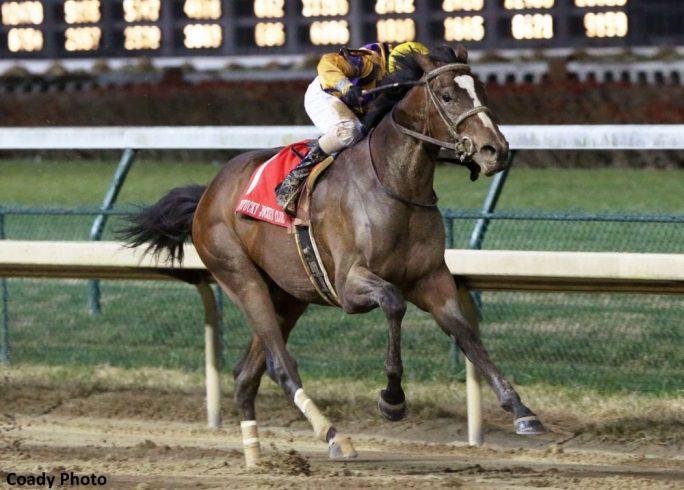 Signalman Scores Derby Points With Game Kentucky Jockey