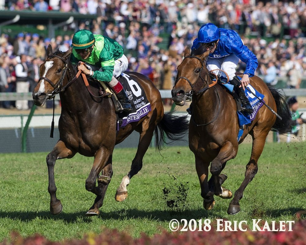 Sistercharlie Takes Filly Amp Mare Turf Giving Brant First