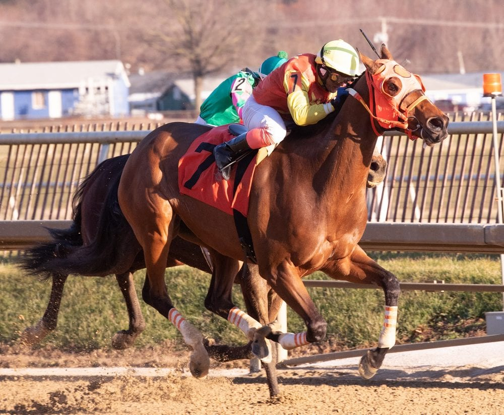 Colonel Sharp Isotope Overwhelm Favorites In Laurel