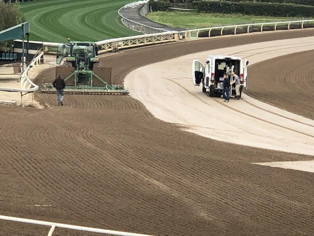 Santa Anita To Add New Main Track Drainage System Before