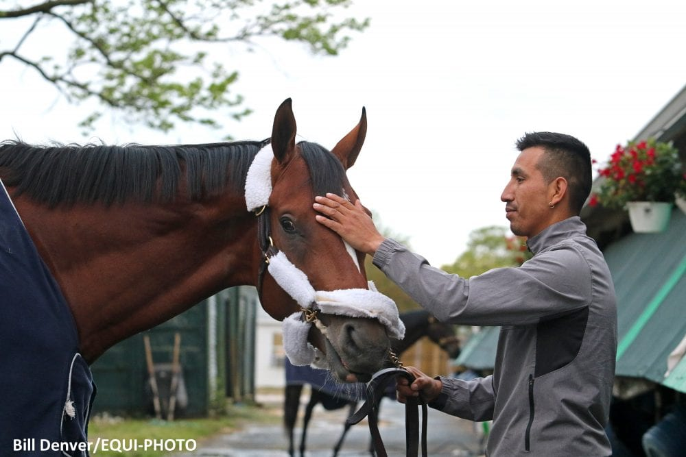 Maximum Security Arrives At Monmouth Pointing Toward
