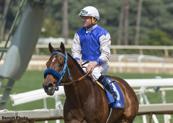 Cal Bred Eddie Haskell Up Late For Daytona Victory Horse