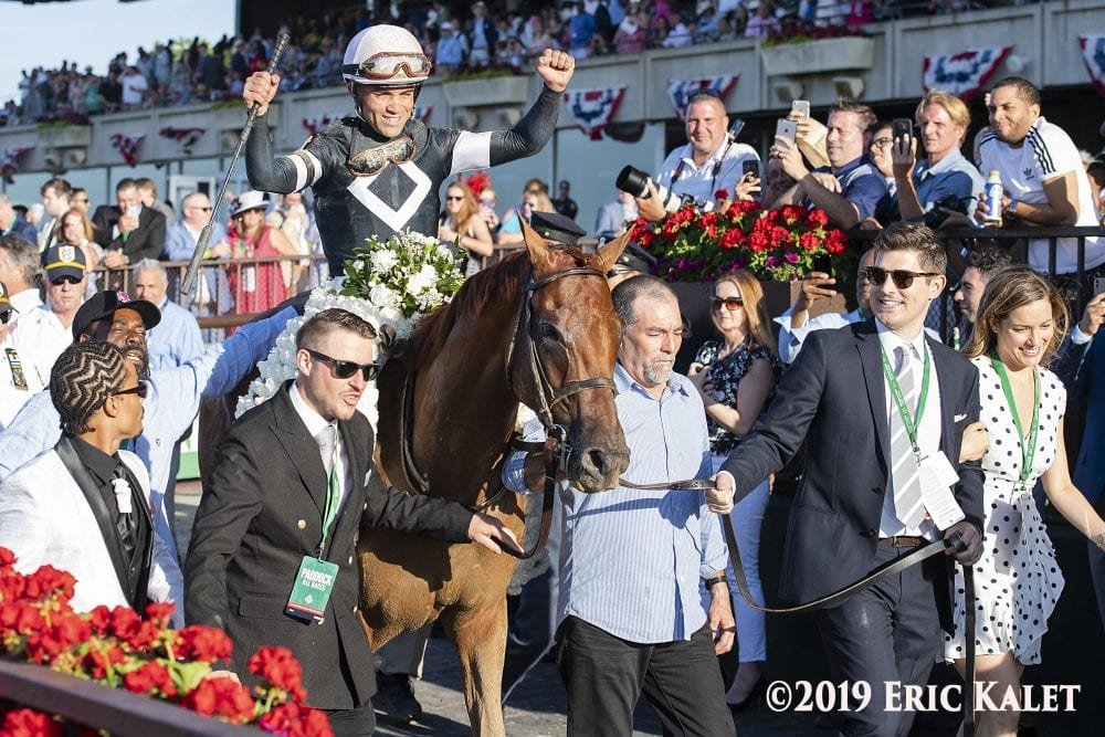 Sir Winston Gives Casse A Second Classic In Belmont Stakes