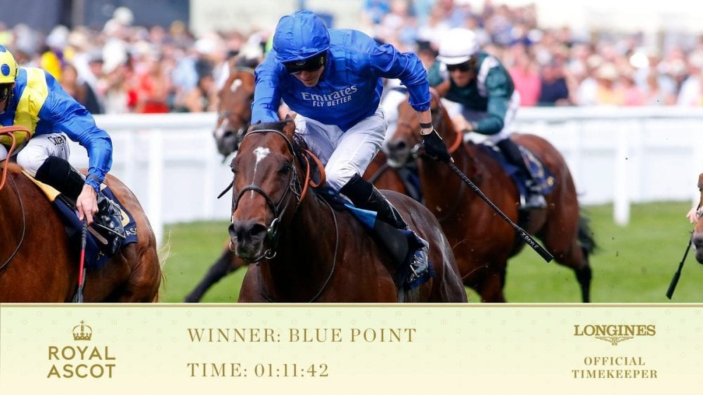 Superstar Blue Point Doubles Up At Royal Ascot To Win