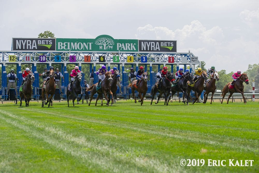 Belmont Releases Fall Stakes Schedule Meet Split With