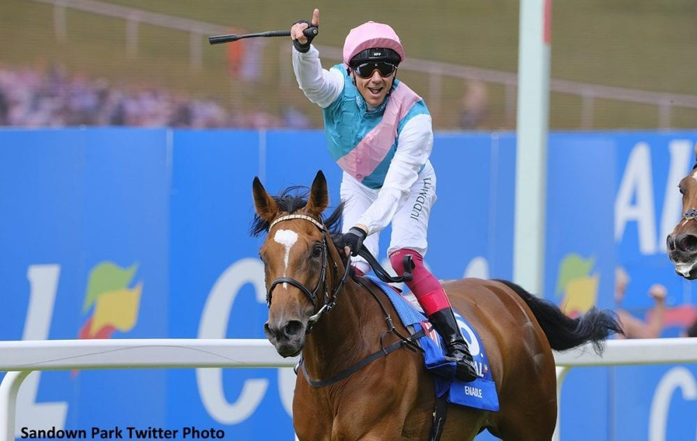 Breeders' Cup Champion Enable Makes A Triumphant Return In Coral-Eclipse