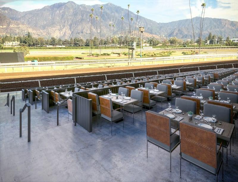 Santa Anita Unveiling New Dining Hospitality Areas In