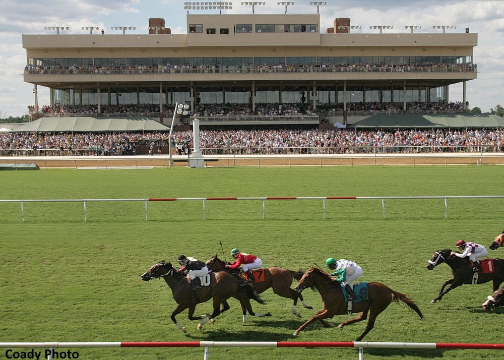 Colonial Downs Comeback Card Features 107 Entrants In 10