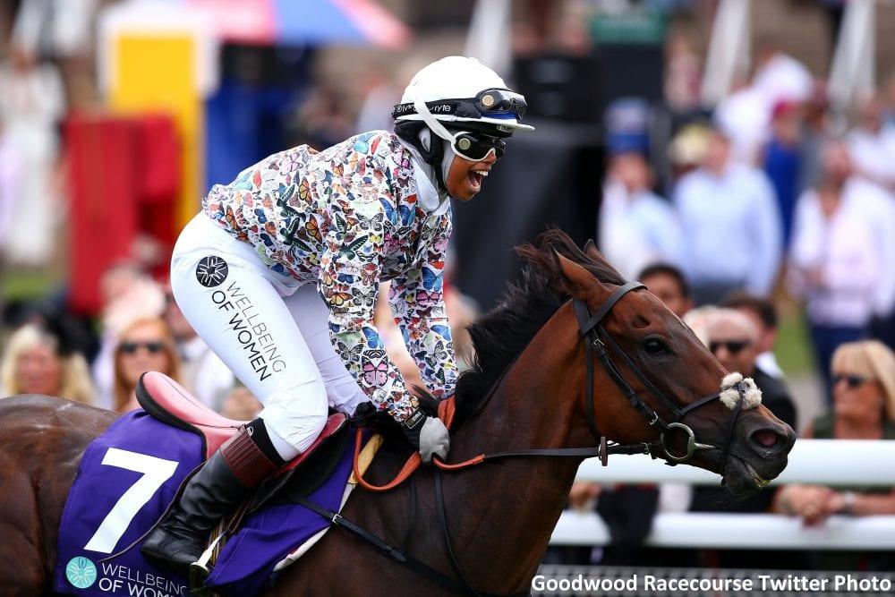 True Role Model': Amateur Female Jockey Makes History With