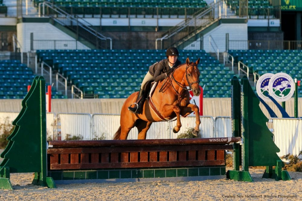 More Than 450 Thoroughbreds Compete at New Vocations Charity