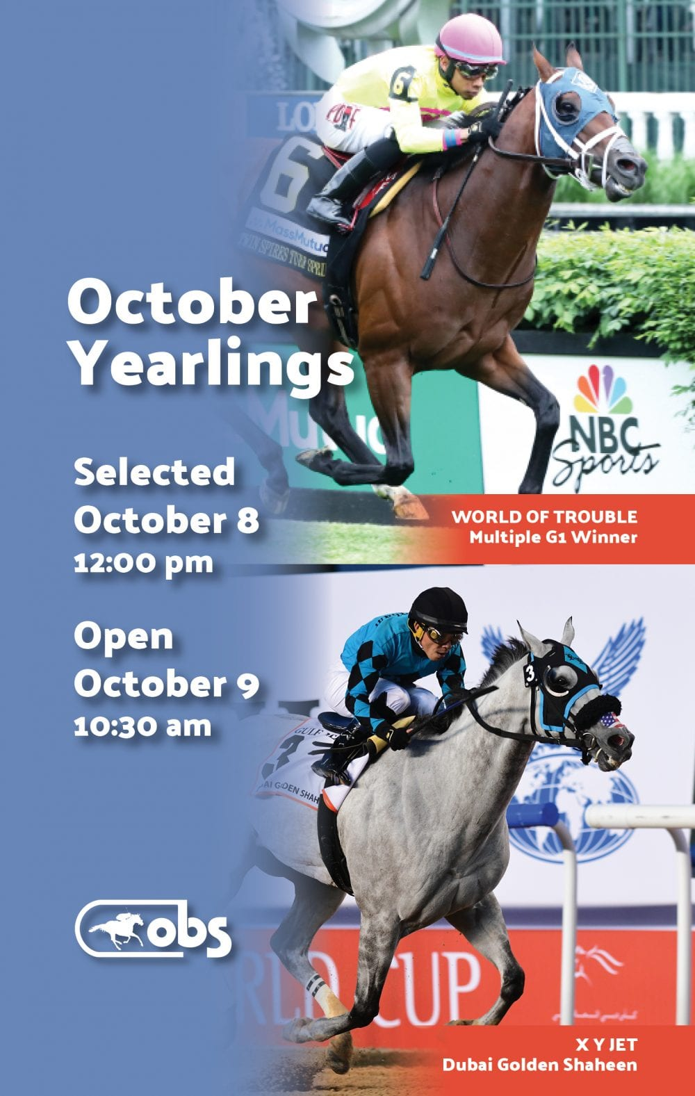 OBS October Yearling Sale Catalog Draws 597 Entries - Horse