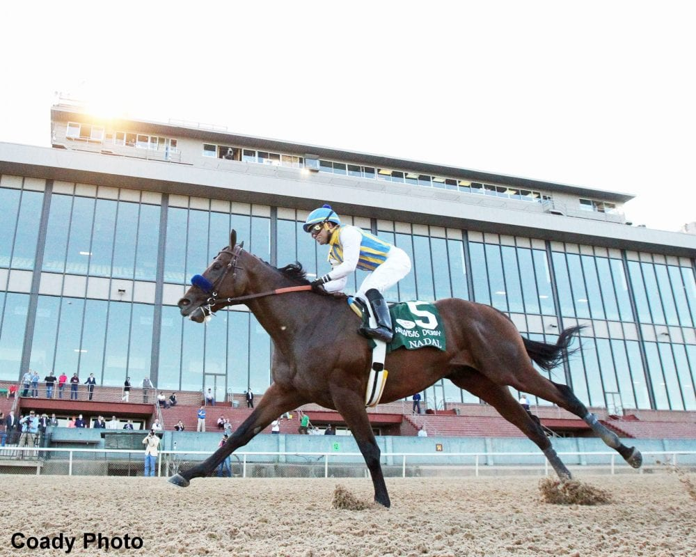Undefeated Arkansas Derby Winner Nadal Undergoes Surgery For Condylar Fracture Horse Racing News Paulick Report